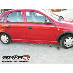 Opel Corsa C Sideskirts Type AutoR