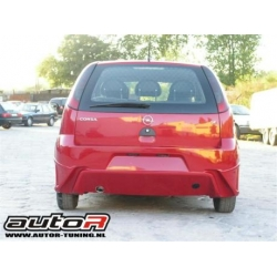 Opel Corsa C Rear Bumper Type Hunter