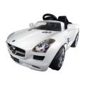 Accu-auto Mercedes-Benz SLS AMG wit met mp3-ingang