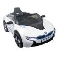 Accu-auto BMW i8 wit met remote control